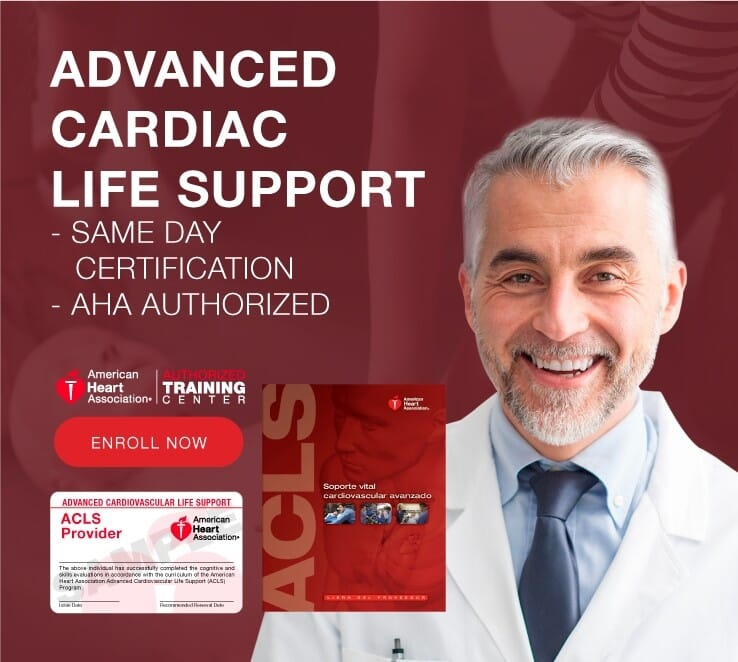 Obtain Your Advanced Cardiac Life Support Certification